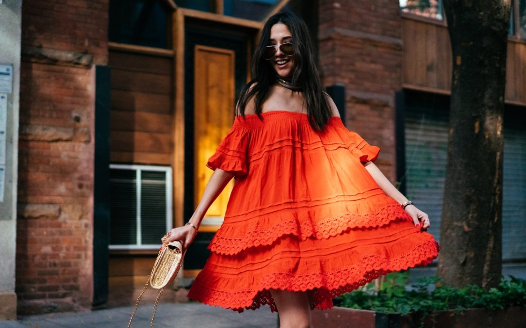 The Orange Dress